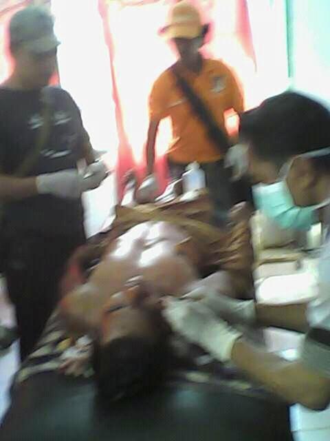 Fto kondisi mayat Sudirman SH/kanjeng boma